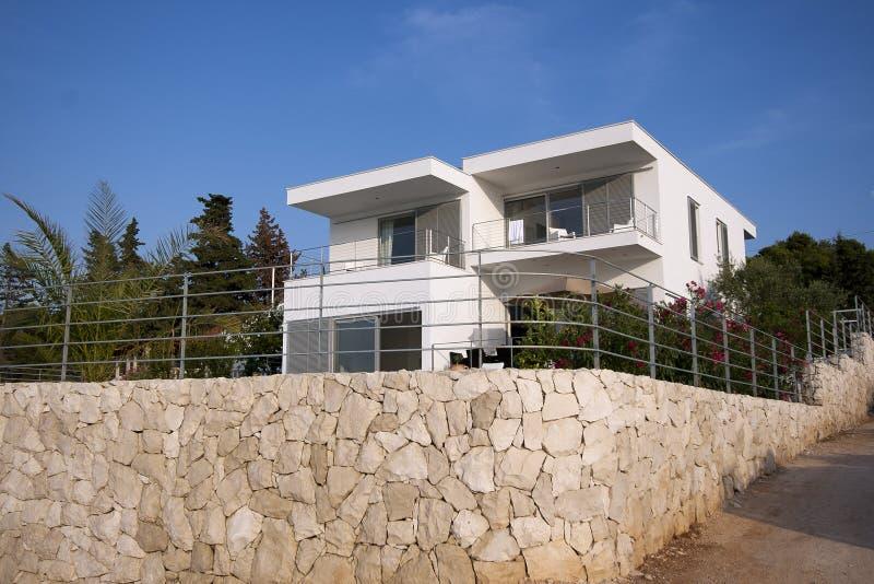 Villa moderne photographie stock