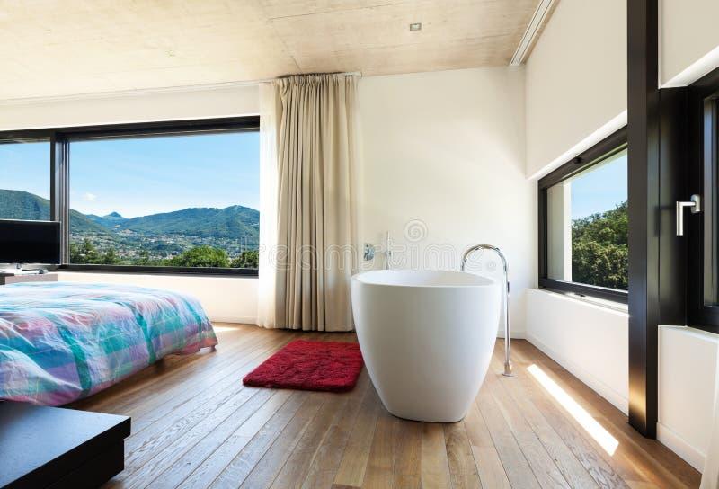Villa moderne, intérieure image libre de droits