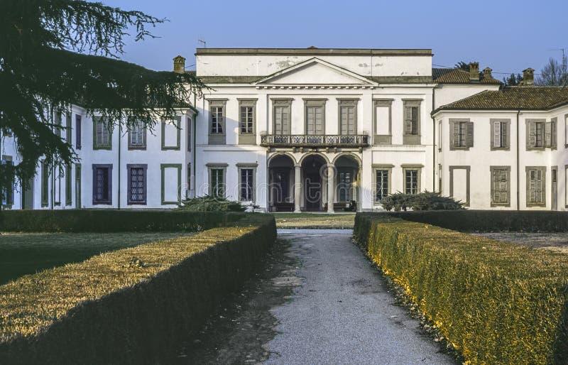Villa in the Monza Park royalty free stock photos