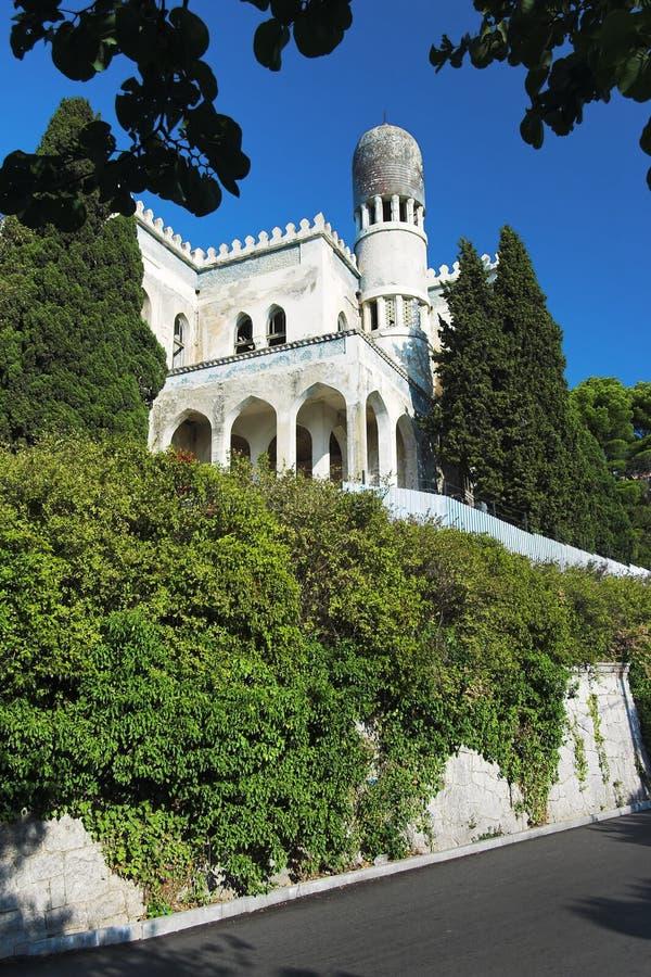 Villa In Moorish Style Royalty Free Stock Images