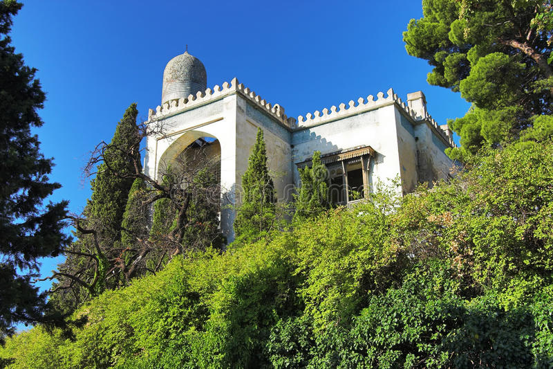 Villa In Moorish Style Stock Photos