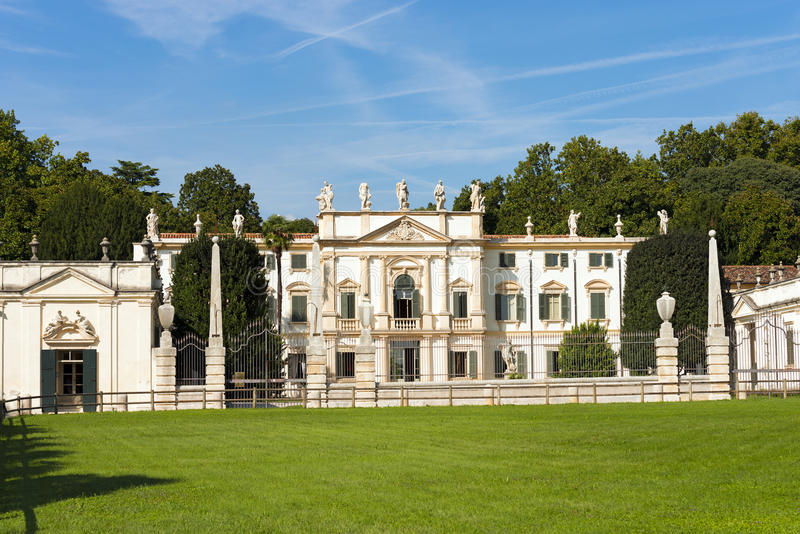 Villa Mosconi Bertani - Arbizzano Verona stock image
