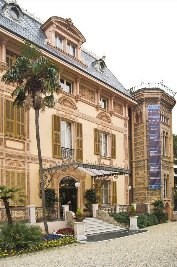 Villa Nobel fotografia stock