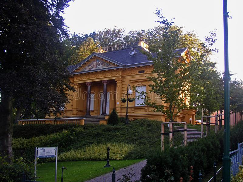 Villa Oechsler/Haus Berthold Heringsdorf Ostseebad photographie stock libre de droits