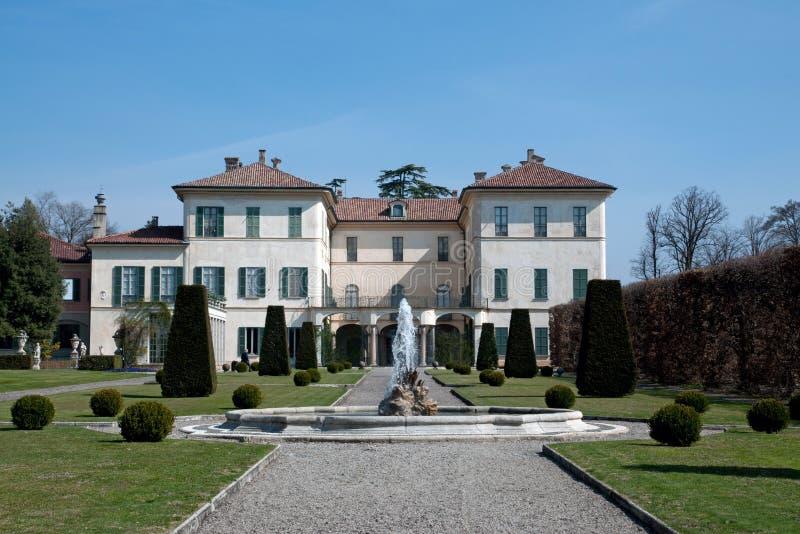 Villa Orrigoni Menafoglio Litta Panza photographie stock libre de droits