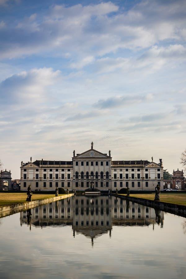 Italian Villa. Padova, Italy stock images