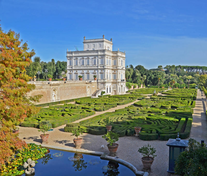 villa pamphili   royalty-vrije stock fotografie