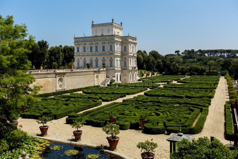 Villa Pamphili in Rome royalty-vrije stock foto