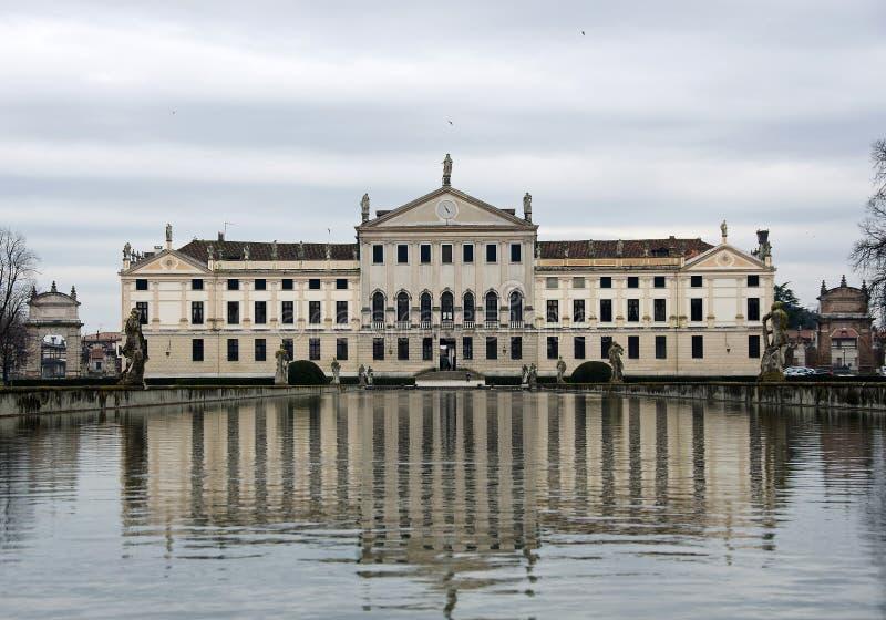Villa pisani stra stock image