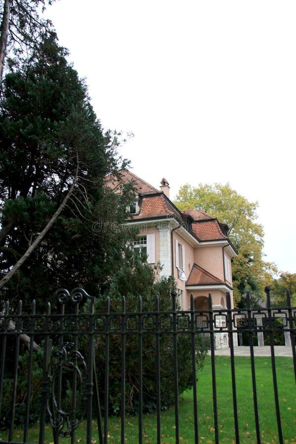 villa privée image stock