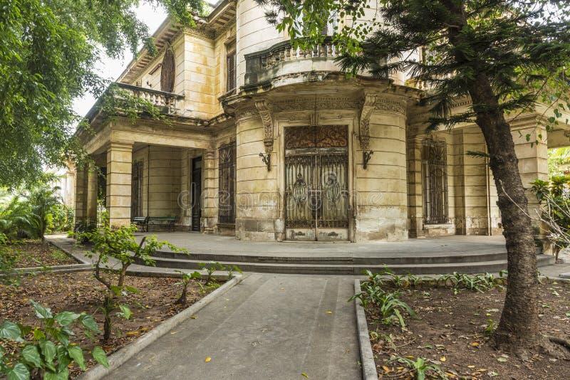 Villa privata consumata Avana fotografia stock libera da diritti