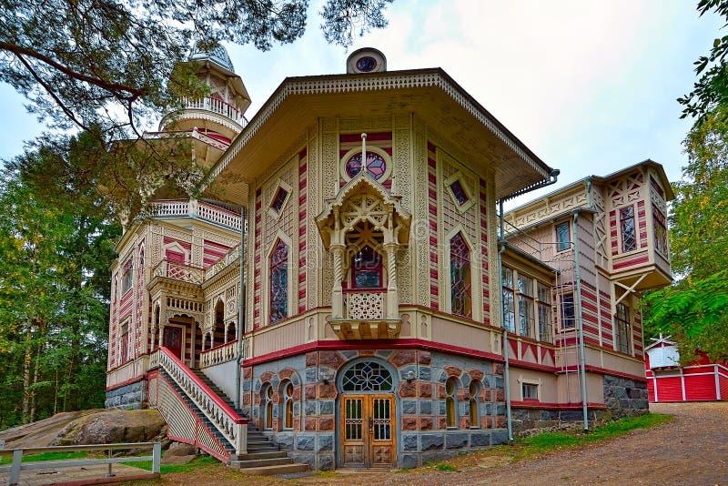 Villa Rauhalinna (Savonlinna, Finlandia) immagini stock