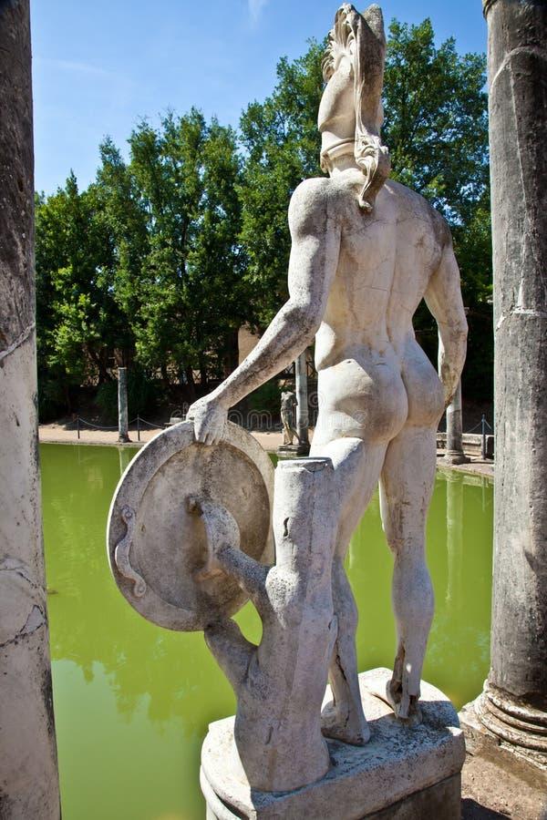 Villa romaine - Tivoli photos stock