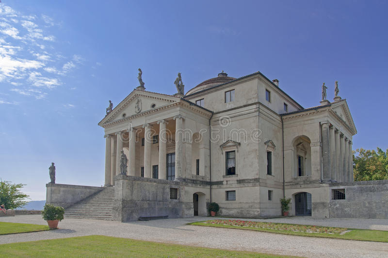 Villa Rotonda royalty free stock image