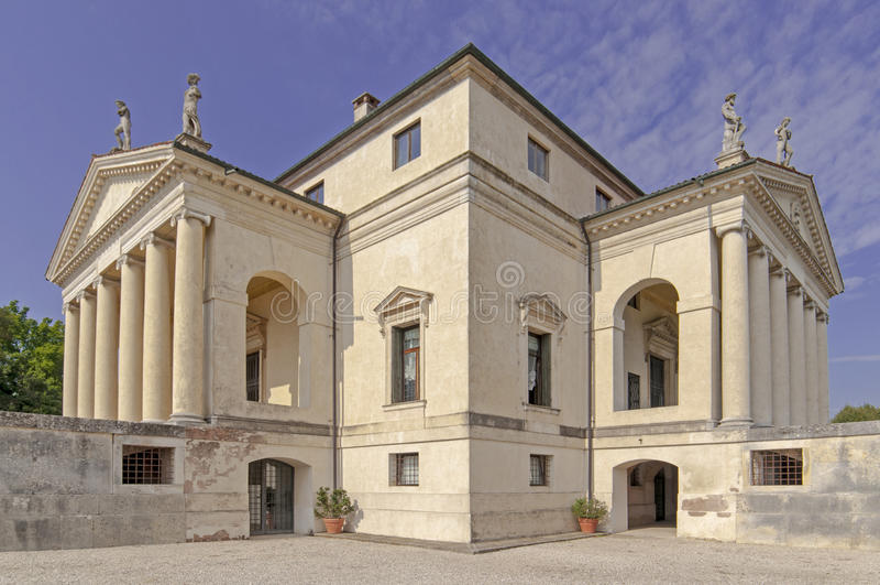 Villa Rotonda stock photography