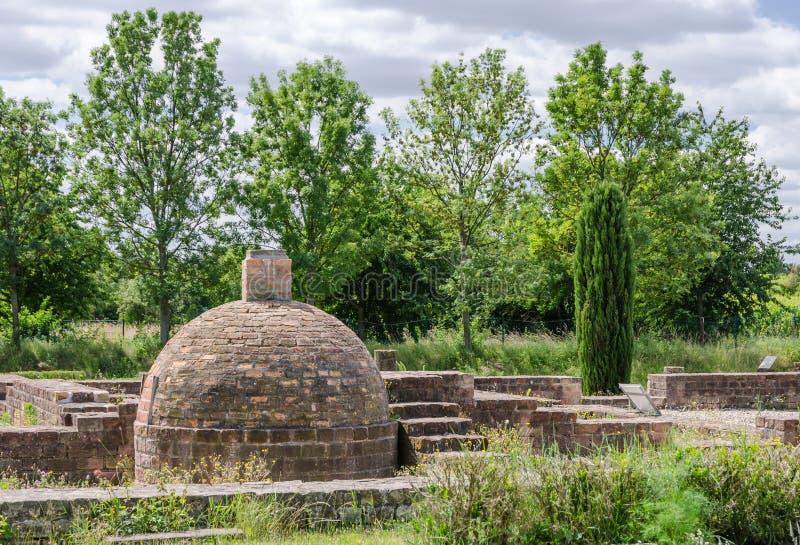 Villa Rustica à l'itinéraire allemand de vin photographie stock libre de droits
