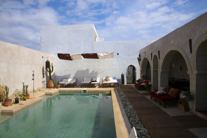 Villa Saada immagine stock libera da diritti
