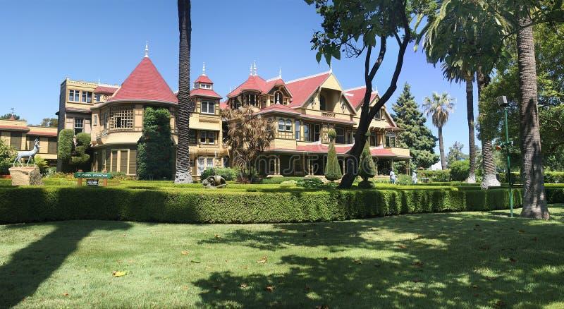 Villa Sara-Winchester lizenzfreie stockfotografie