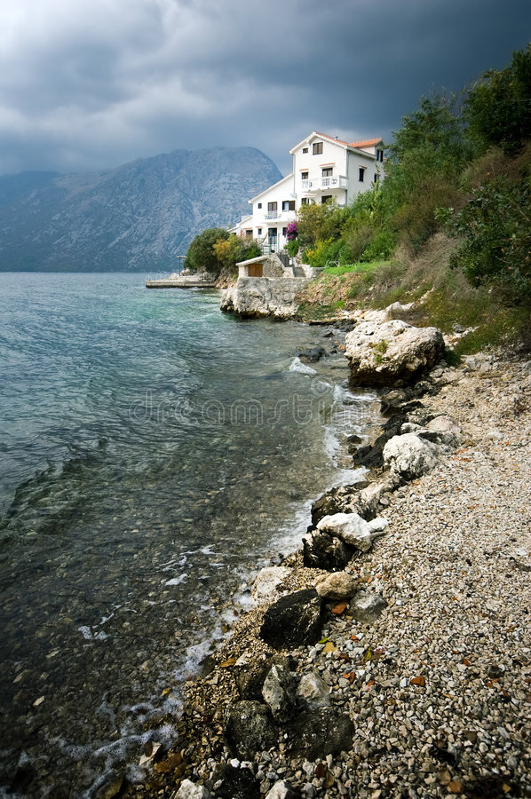 Download Villa At The Seaside Stock Photography - Image: 8612622
