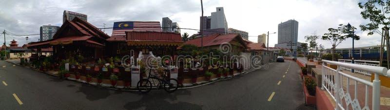 Villa Sentosa Malay Living Musum Malacca arkivbilder
