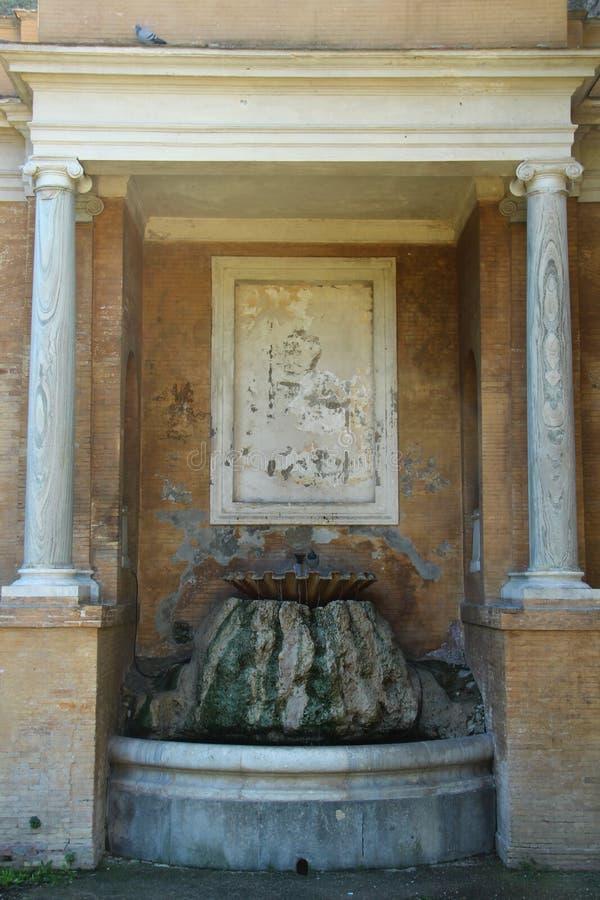 Villa Torlonia in Rome stock afbeelding