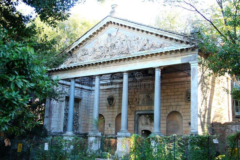 Villa Torlonia in Rome royalty-vrije stock afbeeldingen