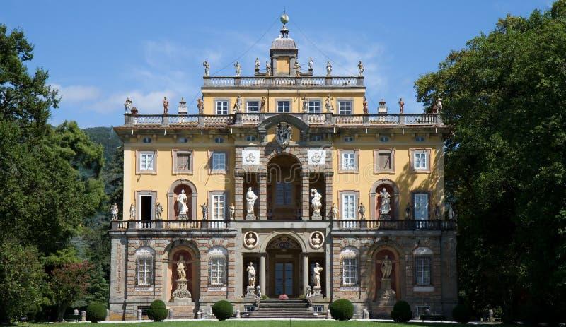 Villa Torrigiani di Camigliano stock image