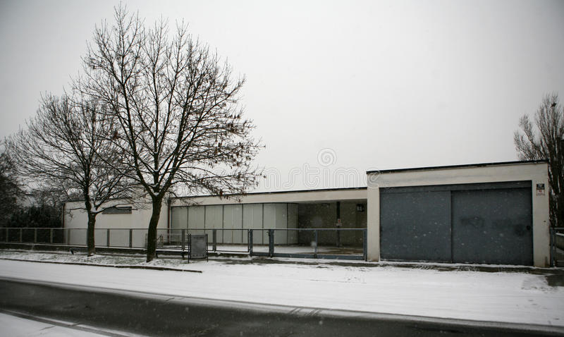 Villa Tugendhat Editorial Stock Photo