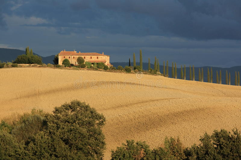 Download Villa In Tuscany Countryside Stock Image - Image: 21138953