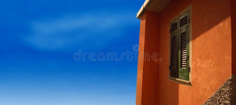 Villa in Tuscany, Italy royalty free stock photo