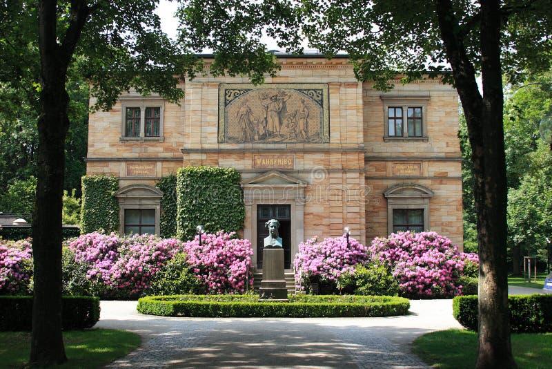 Villa Wahnfried royaltyfria foton