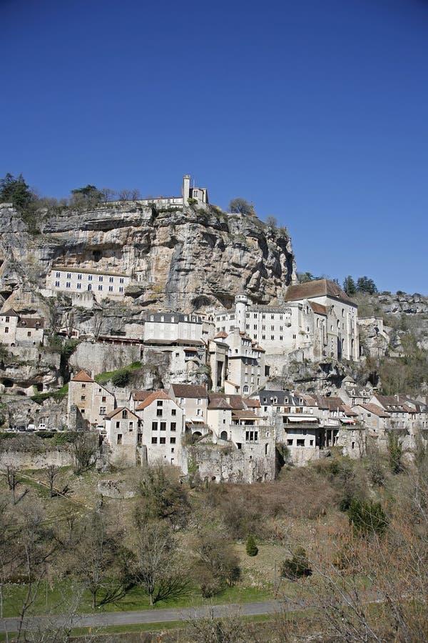 Rocamadour était perché le village