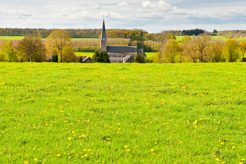 Download Village stock image. Image of church, belfry, countryside - 26011575