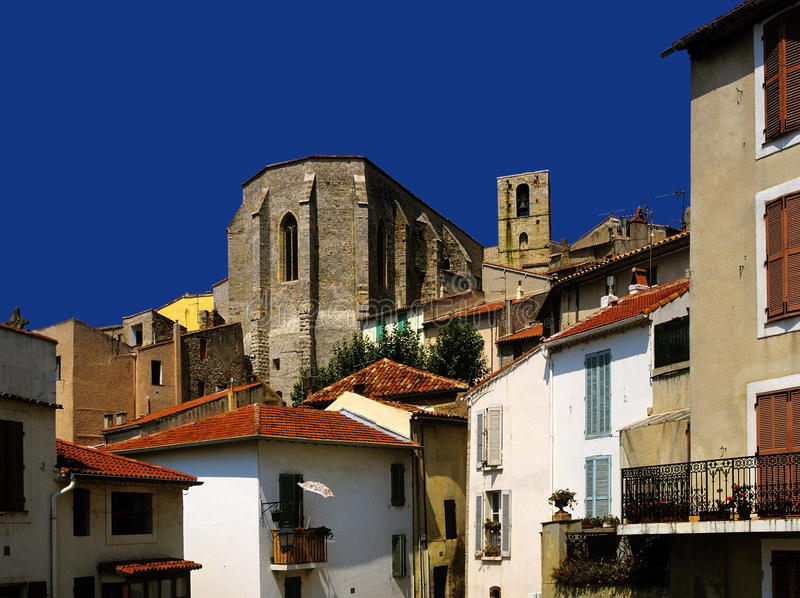 Download Village stock image. Image of hamlets, houses, home, hyeres - 28840507