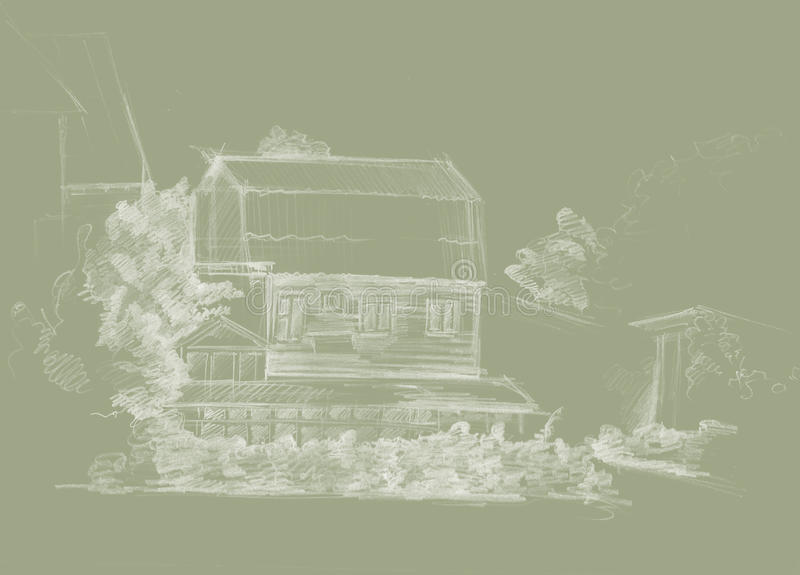Village2 стоковые изображения