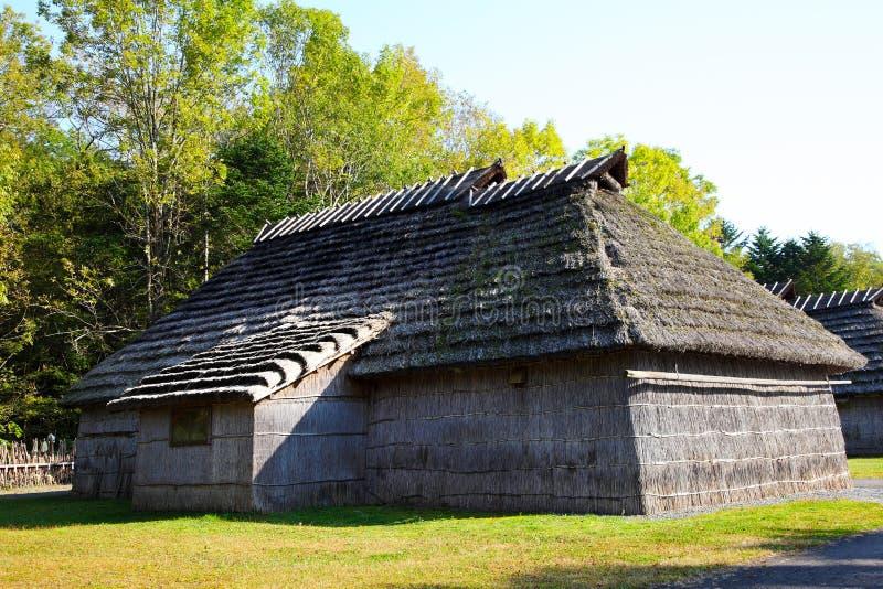 Village Ainu au Hokkaido, Japon image libre de droits