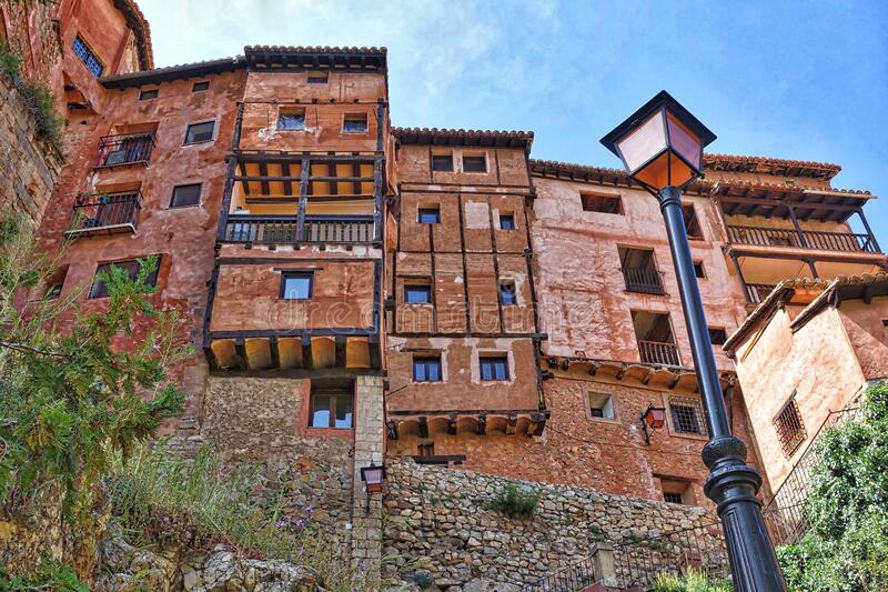 Village of Albarracin royalty free stock images