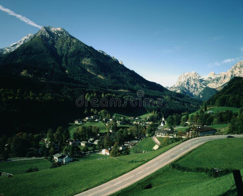 Village allemand photos stock