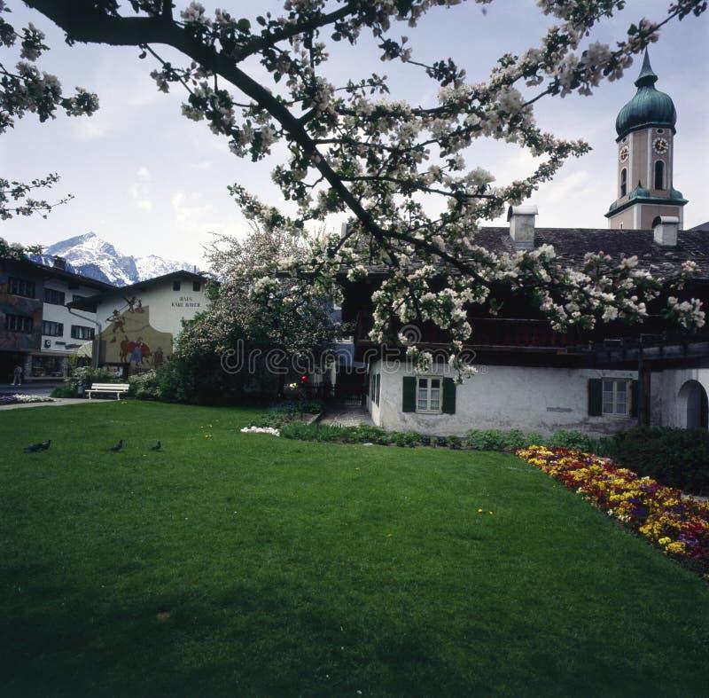 Village allemand images stock
