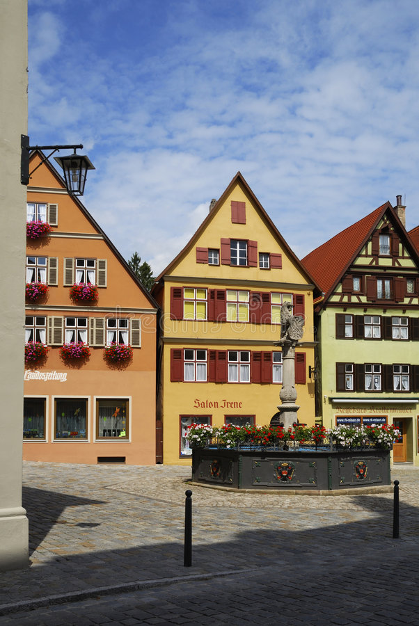 Village allemand image stock