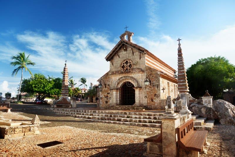 Village Altos de Chavon royalty free stock photo