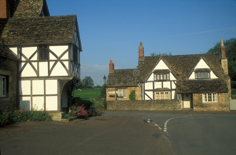Village anglais de pays images libres de droits