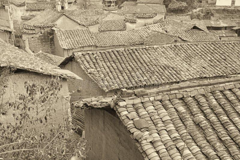 Village antique images libres de droits