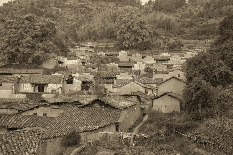 Village antique image stock