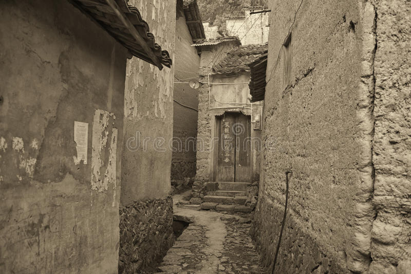 Village antique photos stock