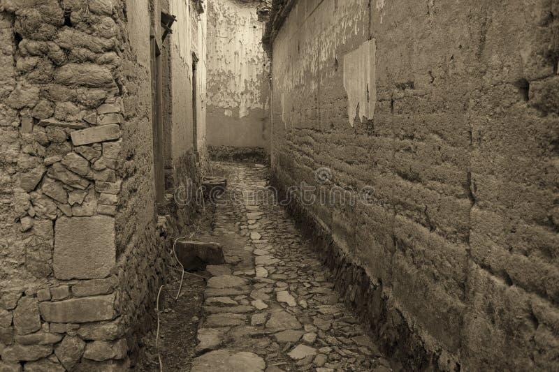 Village antique image libre de droits