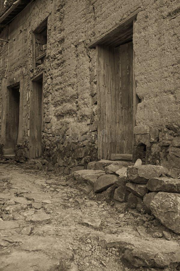 Village antique photographie stock