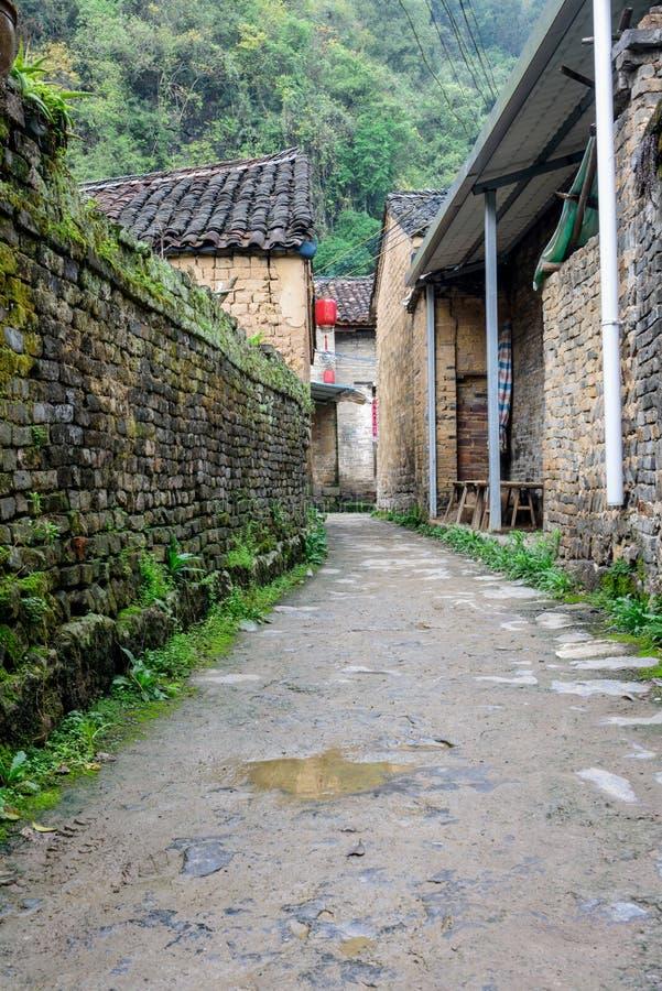 Village antique de Longtan images libres de droits