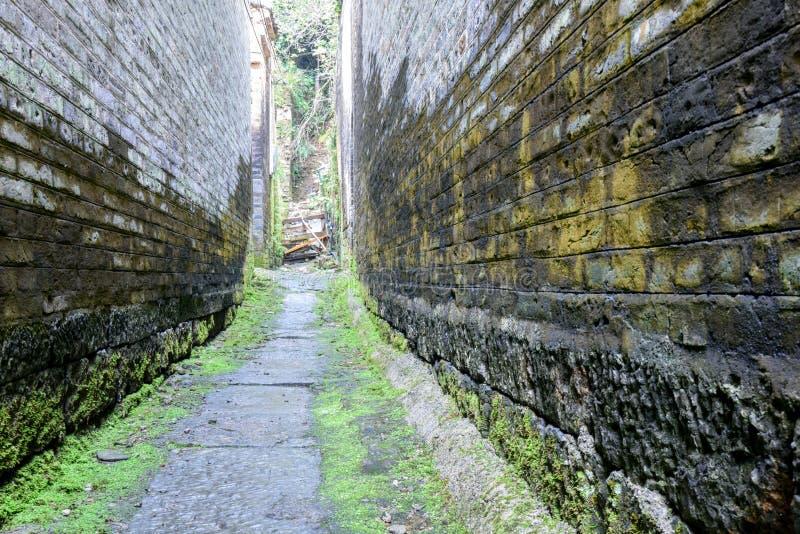 Village antique de Longtan photos stock
