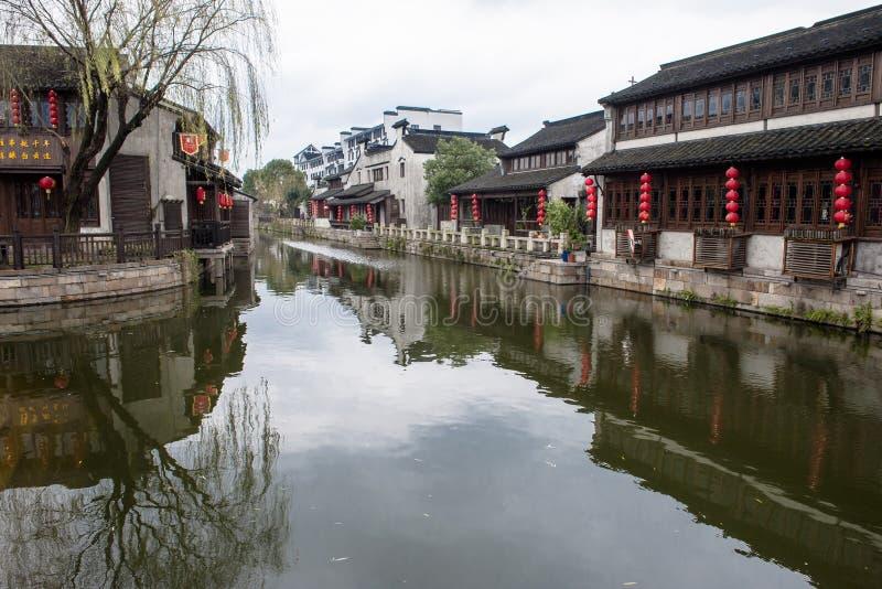 Village antique en Chine image stock